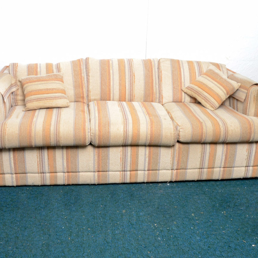 Excellent Vintage Couch With Pull Out Mattress Caraccident5 Cool Chair Designs And Ideas Caraccident5Info