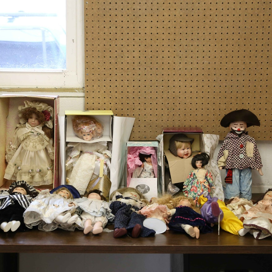 Porcelain Doll Assortment