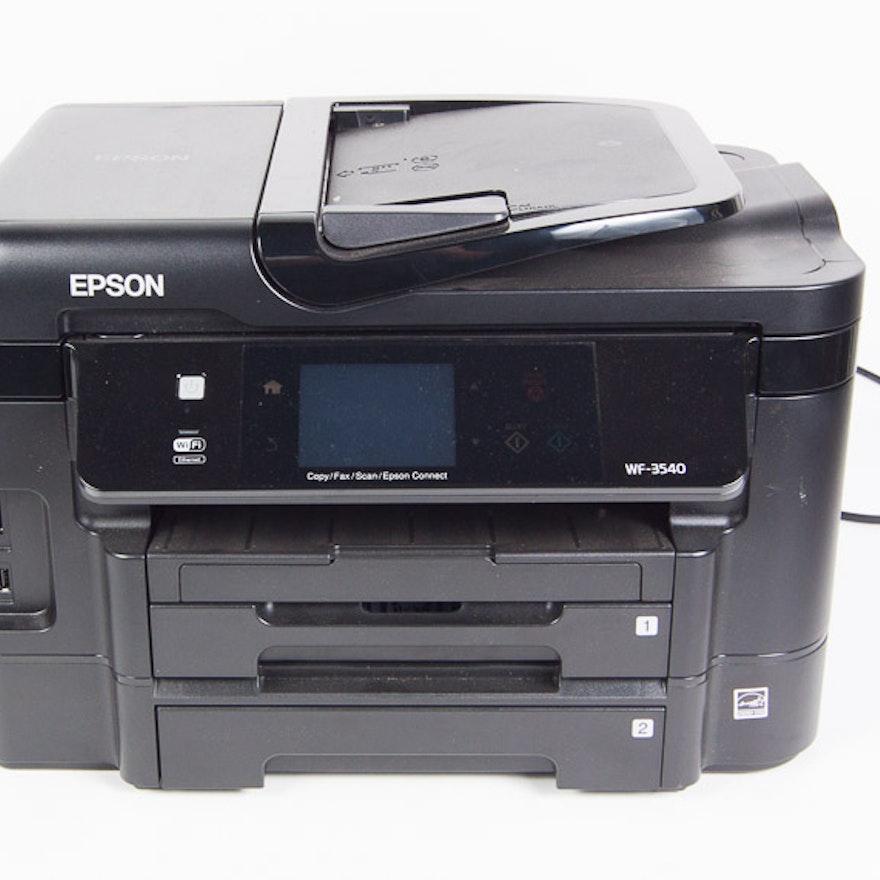 Epson Workforce WF-3540 Wireless All-in-One Color Inkjet Printer