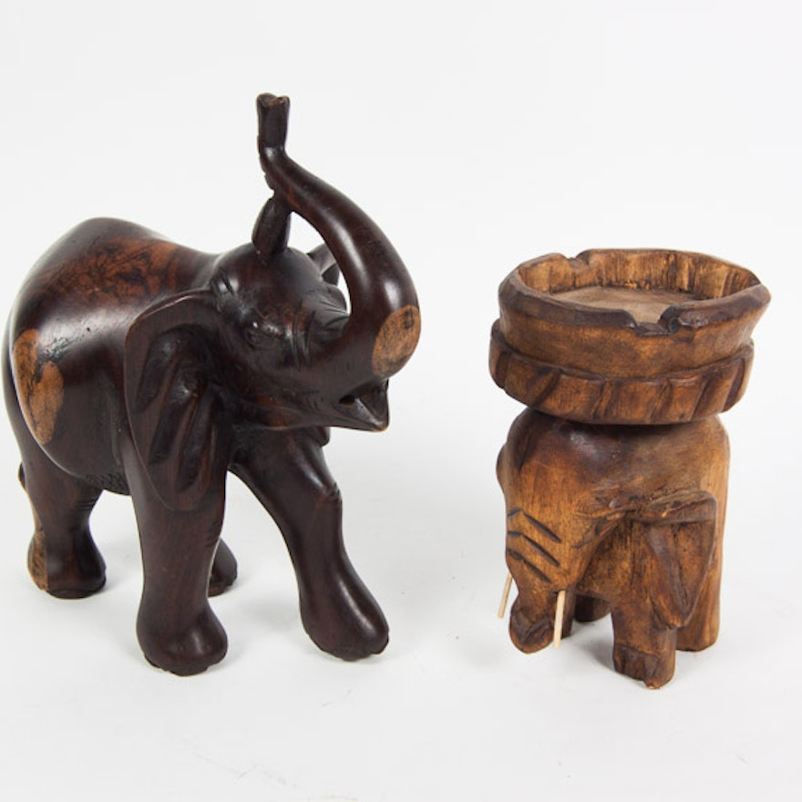 African Elephant Statues