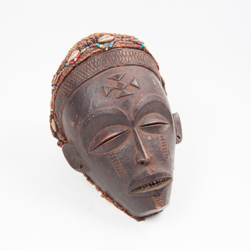 Chokwe Mask from the Congo (West Africa)