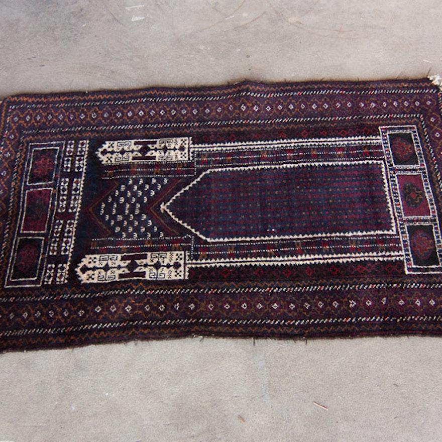 Handmade Prayer Rug - 2