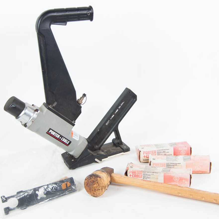 Porter Cable Flooring Cleat Nailer Set