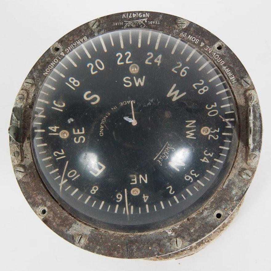 Vintage Sestral Mariner's Compass
