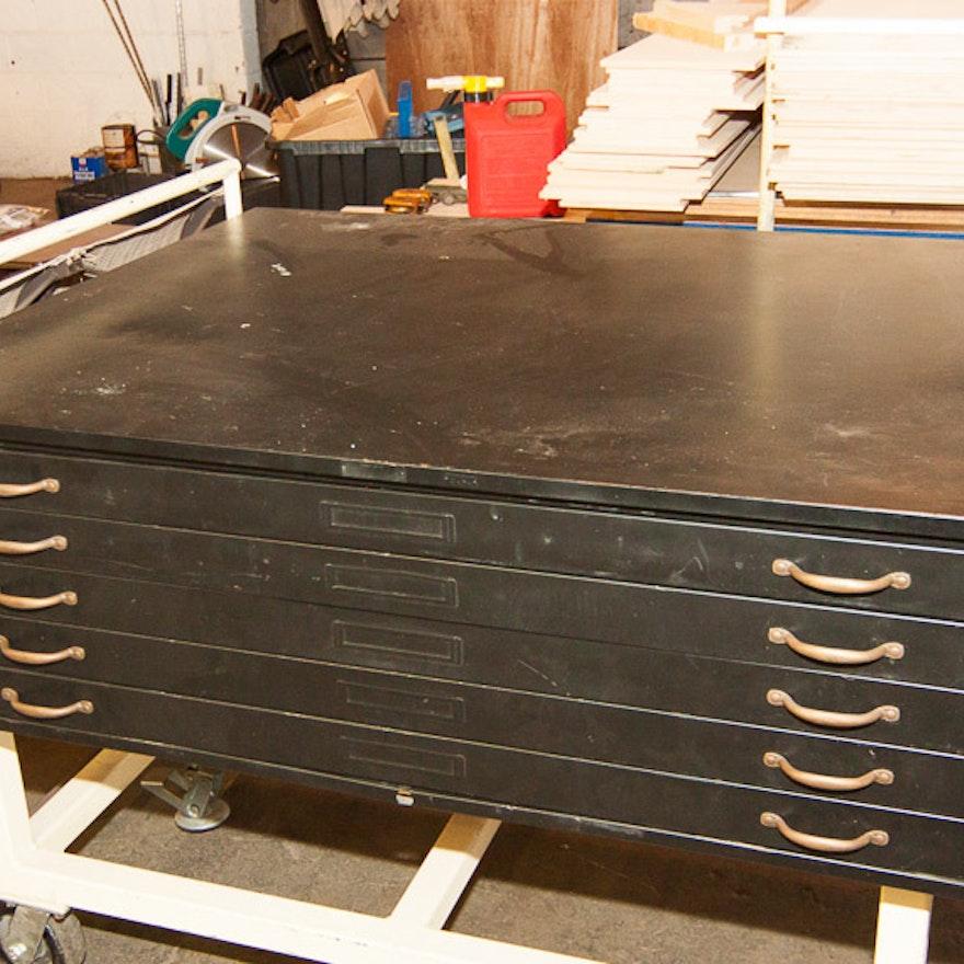 Hamilton-Economy Flat Drawer File Cabinet