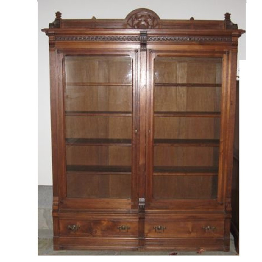 Antique Eastlake Style Bookcase