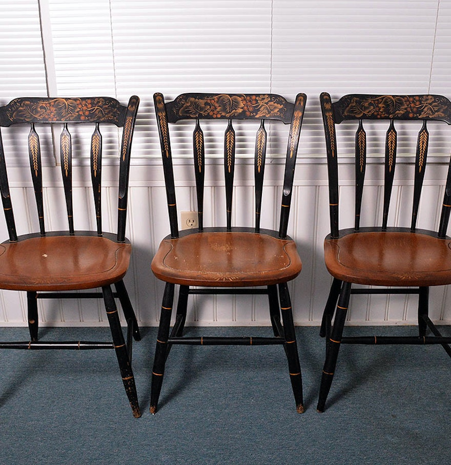 Early American Style Dining Chairs : EBTH