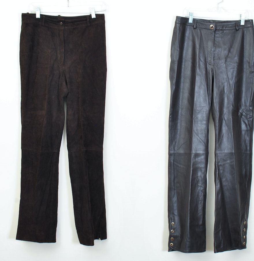 Creative Miss V Dark Brown Casual Pants  Women Amp Plus  Zulily