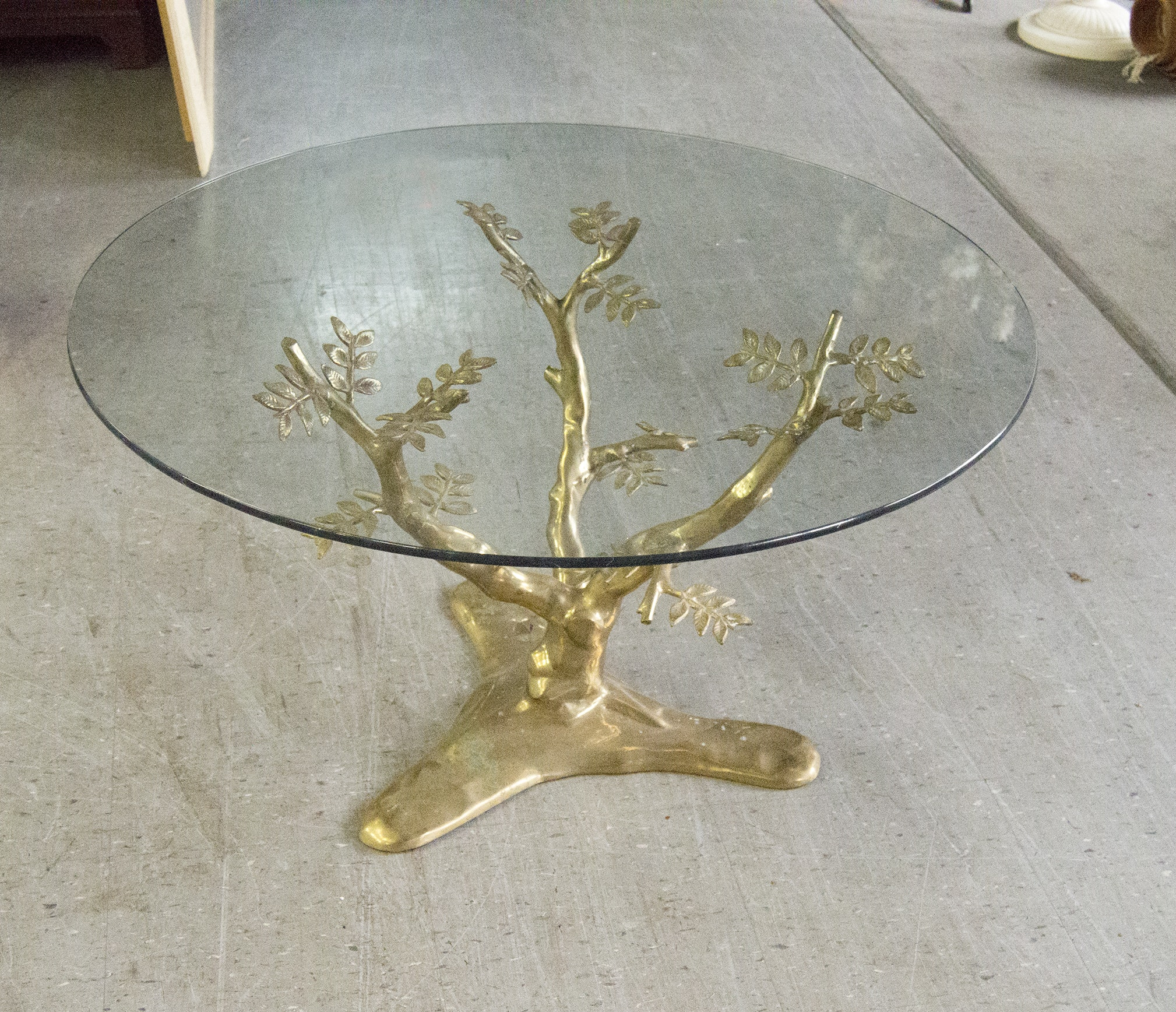 Brass Tree Table Base ...