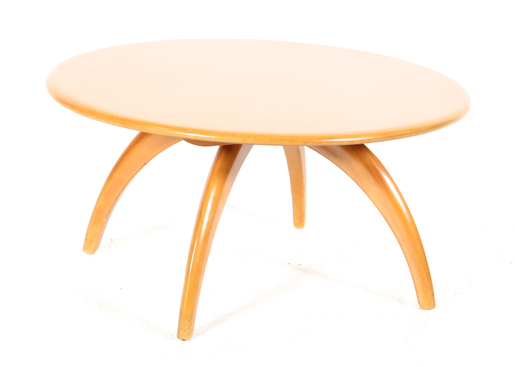 Heywood Wakefield Coffee Table with Lazy Susan EBTH