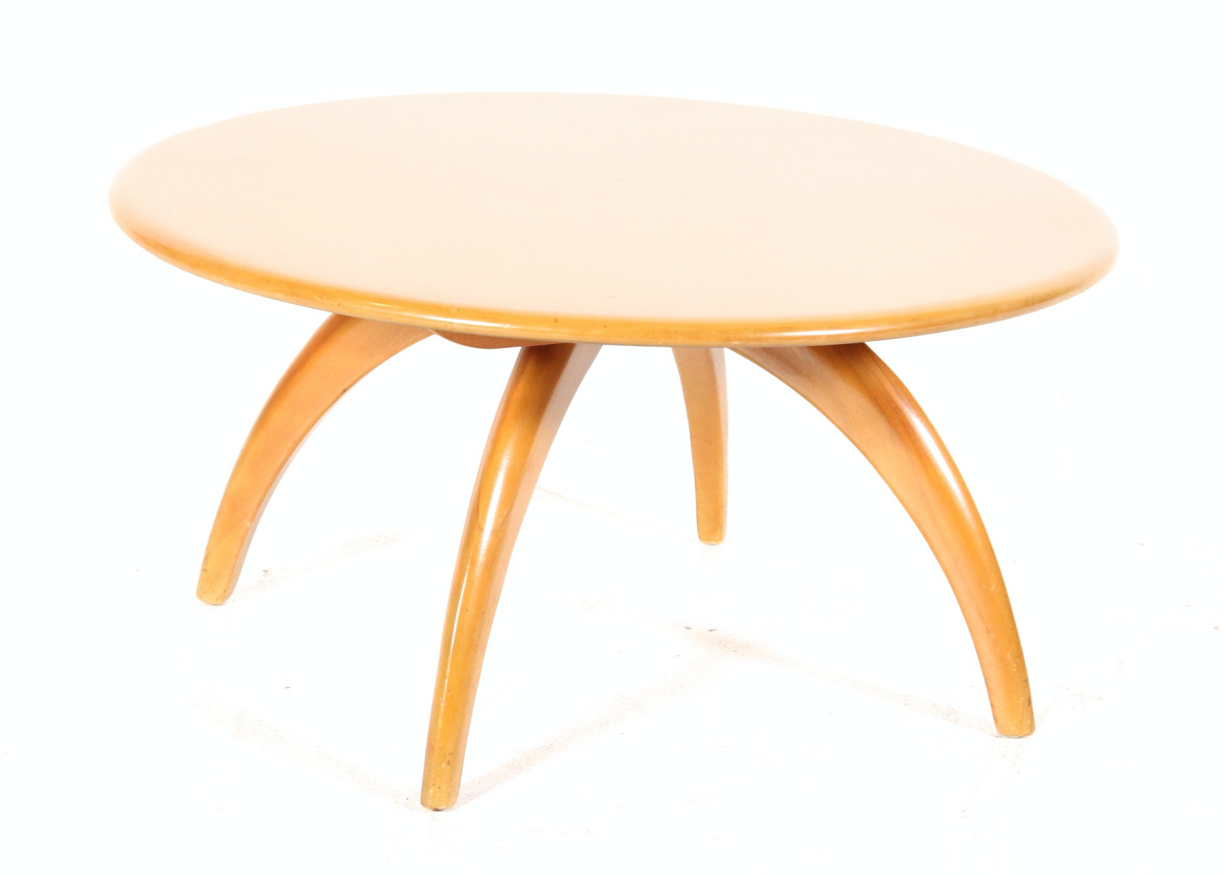Heywood Wakefield Coffee Table With Lazy Susan ...