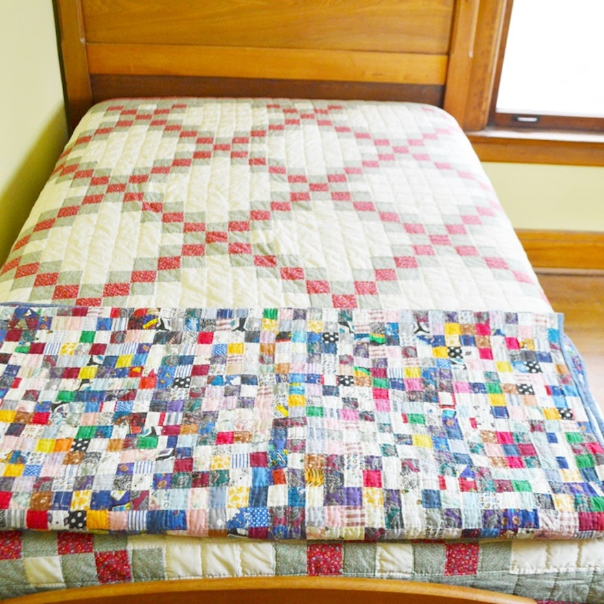 Two Hand Quilted Quilts