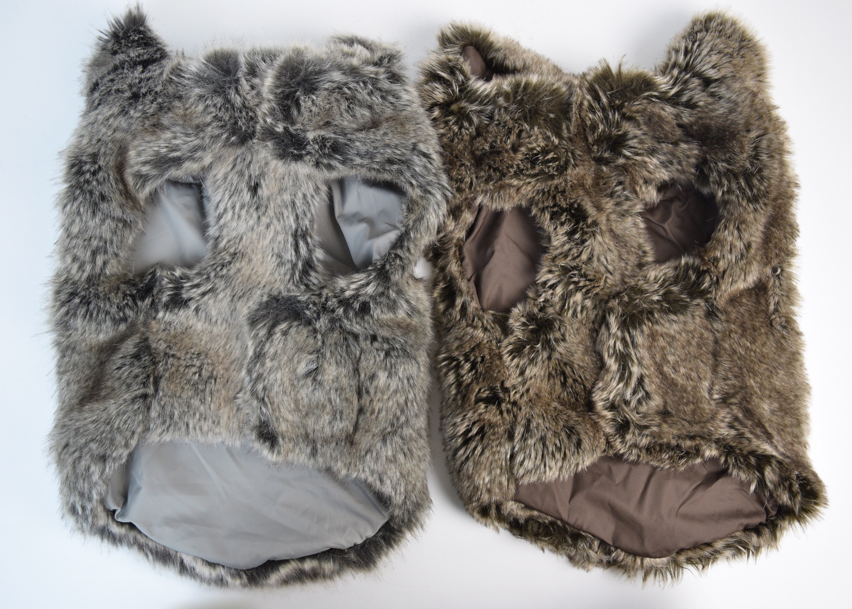 Restoration hardware faux fur