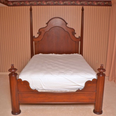 Vintage Bed Auction Used Beds And Bedding For Sale In