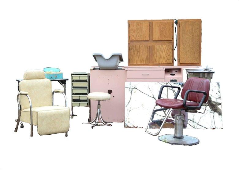 Beauty Shop Furniture Set EBTH
