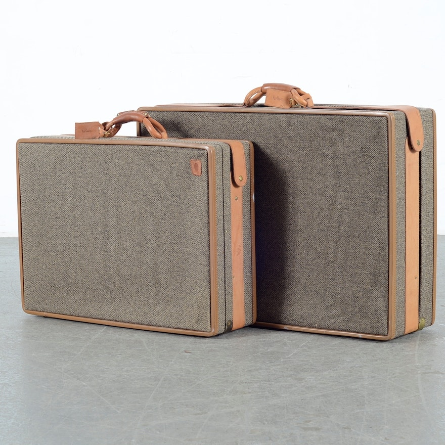 bfaa97abe409 Hartmann Handcrafted Luggage Set Of Two   EBTH