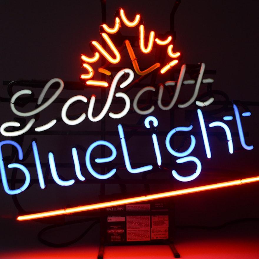 Labatt Blue Light Beer Neon Sign
