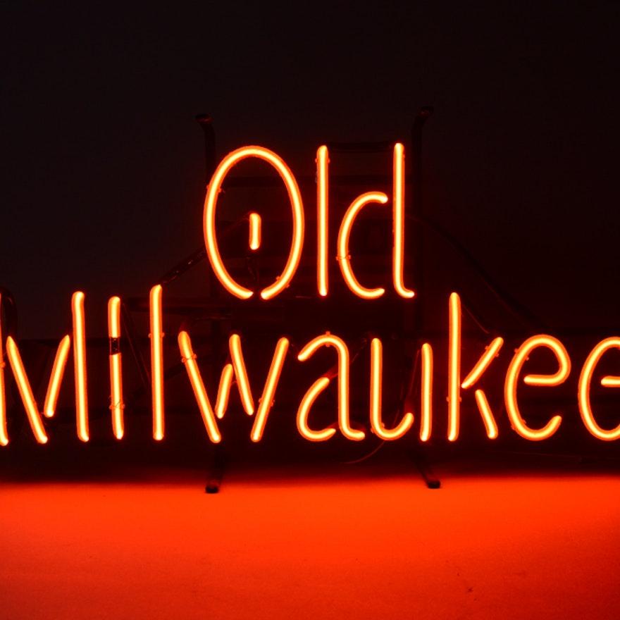 Old Milwaulkee Neon Sign