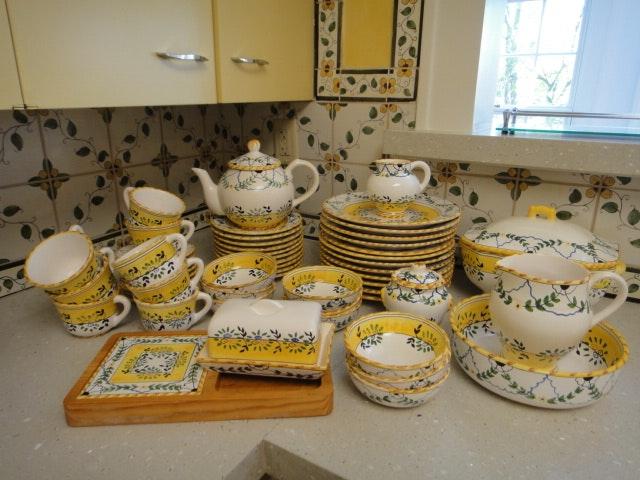 52 Piece Portuguese Dinnerware Set ... & 52 Piece Portuguese Dinnerware Set : EBTH