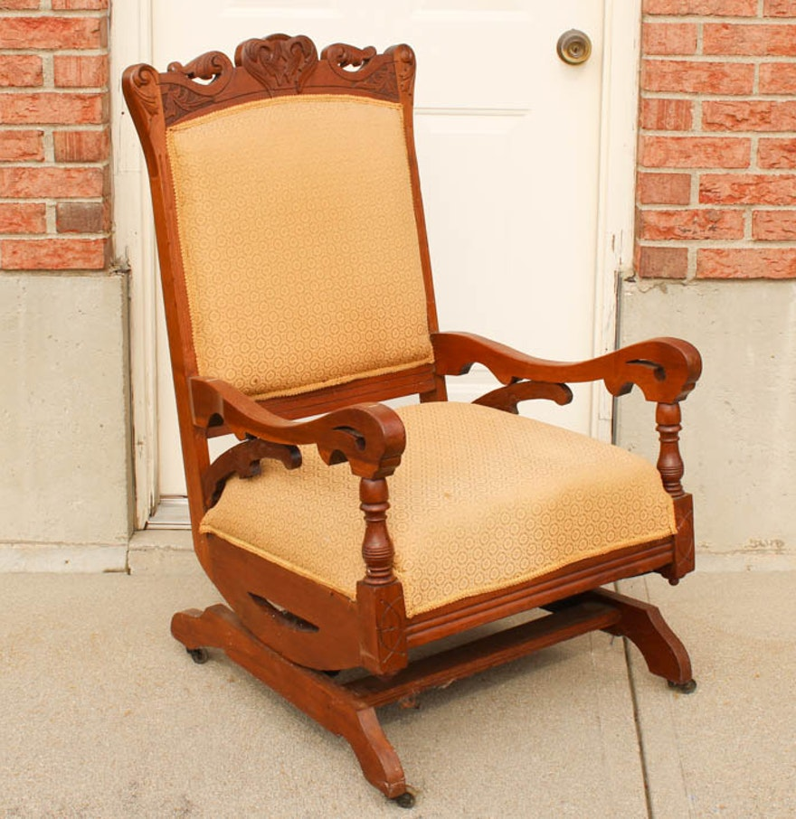 Antique Platform Rocker Ebth - Antique Platform Rocking Chair - Best 2000+ Antique Decor Ideas
