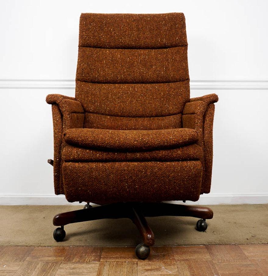 Vintage La-Z-Boy Reclining Office Chair : EBTH