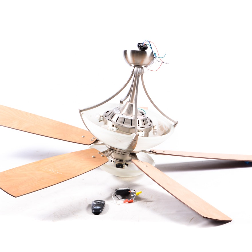 Hampton bay two tier lighted ceiling fan ebth hampton bay two tier lighted ceiling fan aloadofball Images