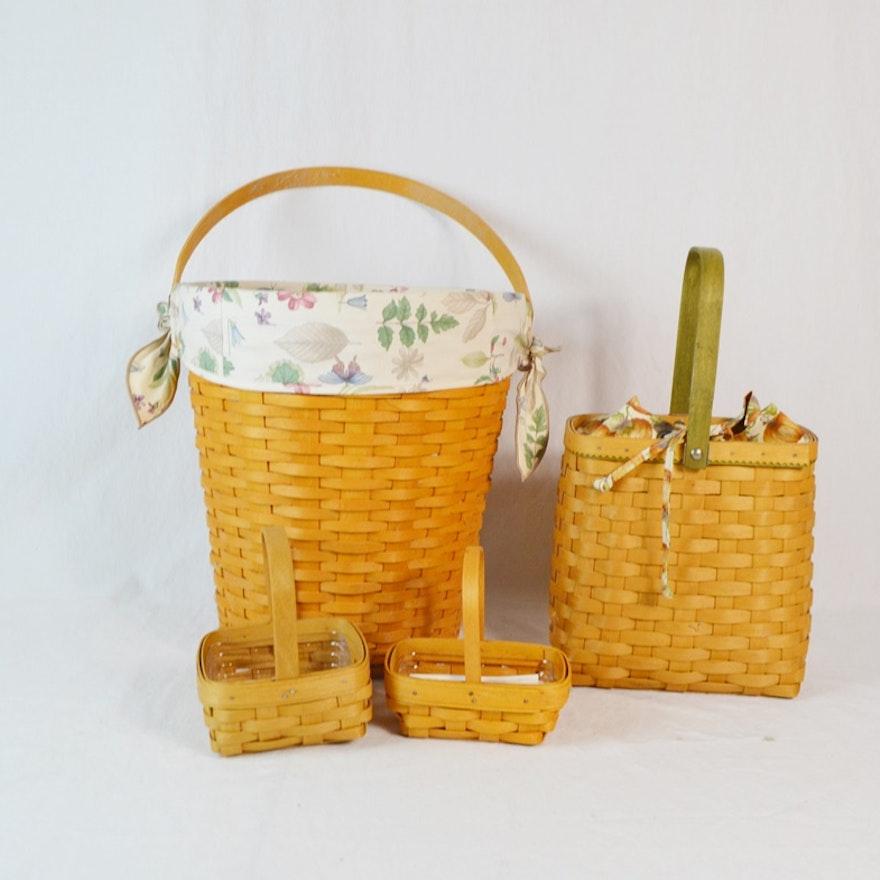 Four Longaberger Baskets