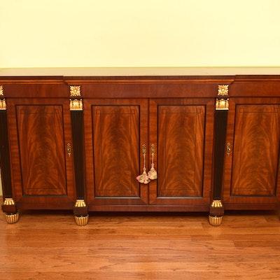 Baker Furniture Credenza Finished in Mahogany - Online Furniture Auctions Vintage Furniture Auction Antique