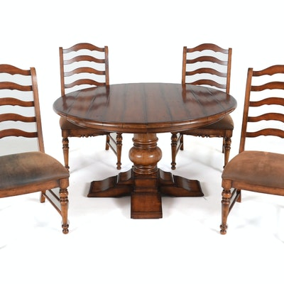Hooker Circular Dining Table And Chairs
