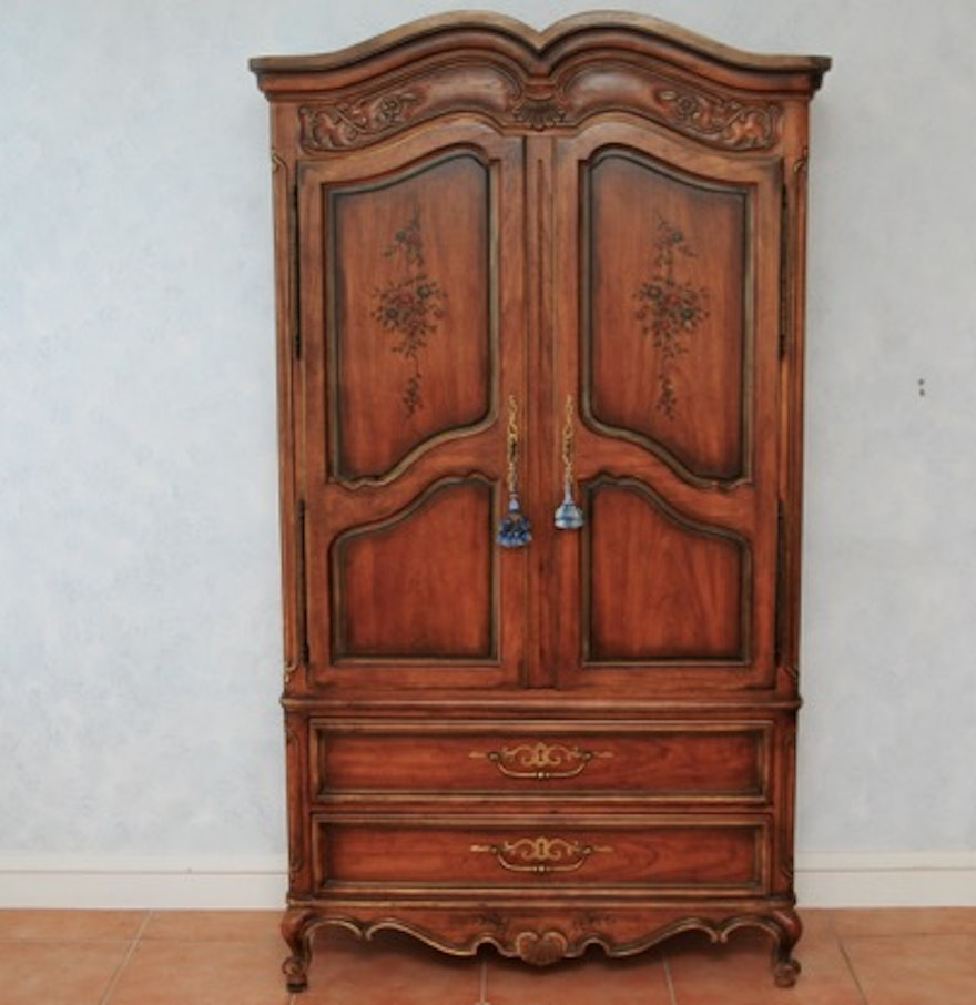 Drexel Heritage Brittany Armoire Ebth