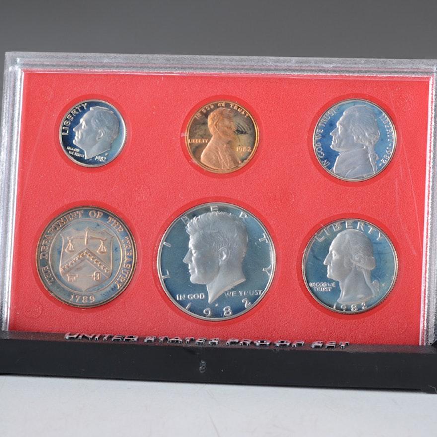 1982 U.S. Mint Proof Set