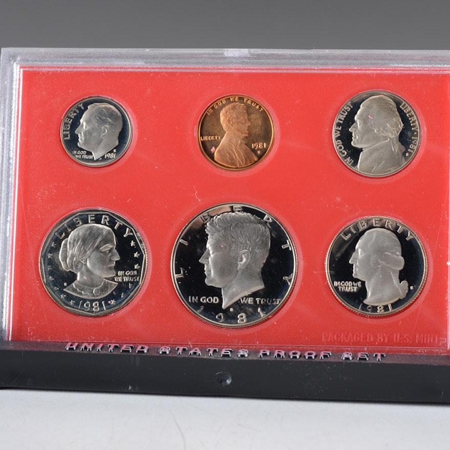 1981 U.S. Mint Proof Set
