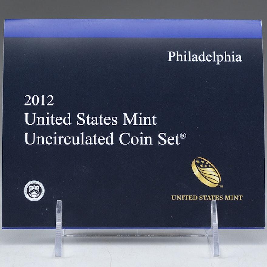 2012 United States Uncirculated Philadelphia Mint Set