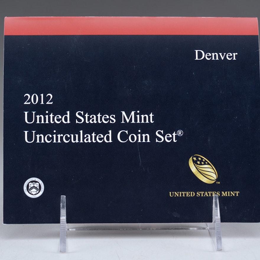 2012 United States Uncirculated Denver Mint Set
