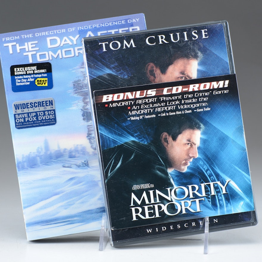 A Group of two DVD's