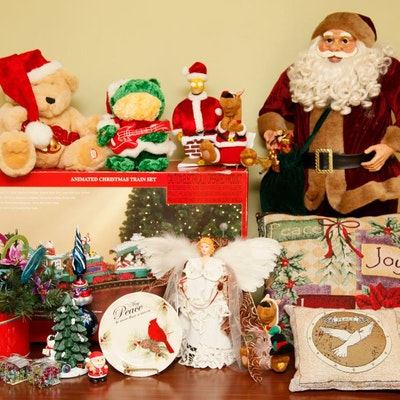 Holiday Decor Auctions Christmas Decor Auctions In