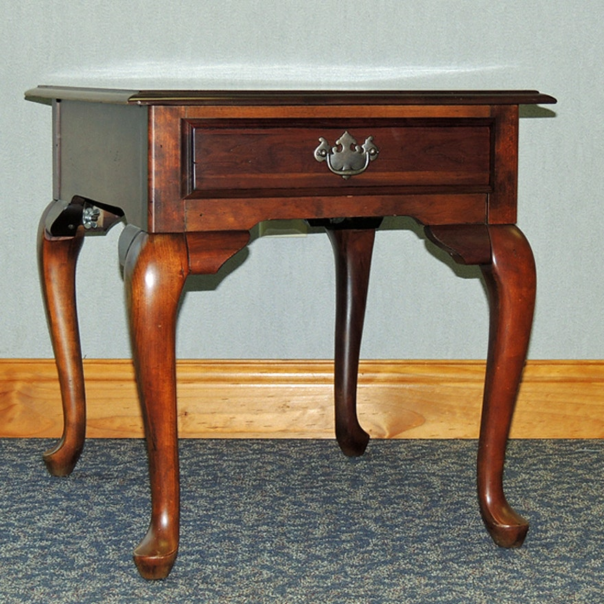 Fantastic Kincaid Queen Anne End Table Home Interior And Landscaping Fragforummapetitesourisinfo
