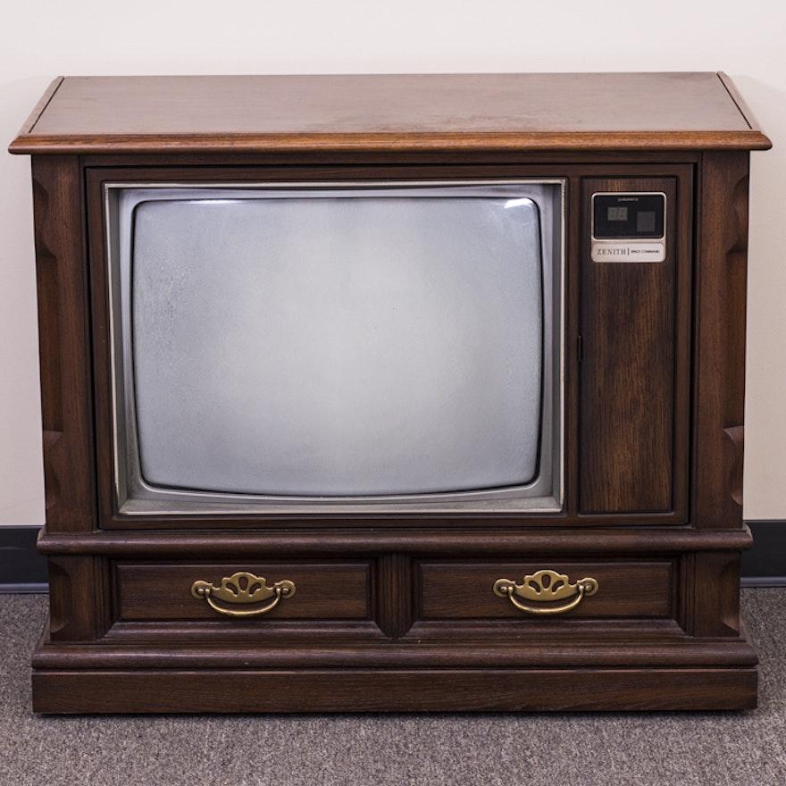 Zenith Console Tv ~ Vintage zenith color tv ebth