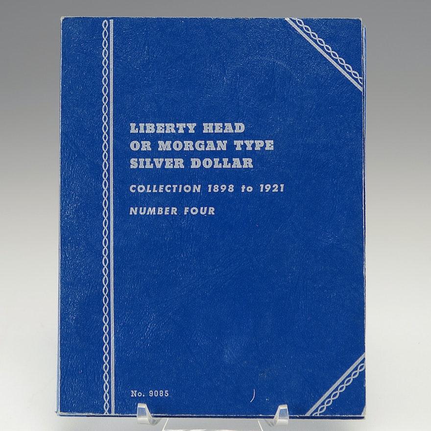 Group of Six Morgan Silver Dollars
