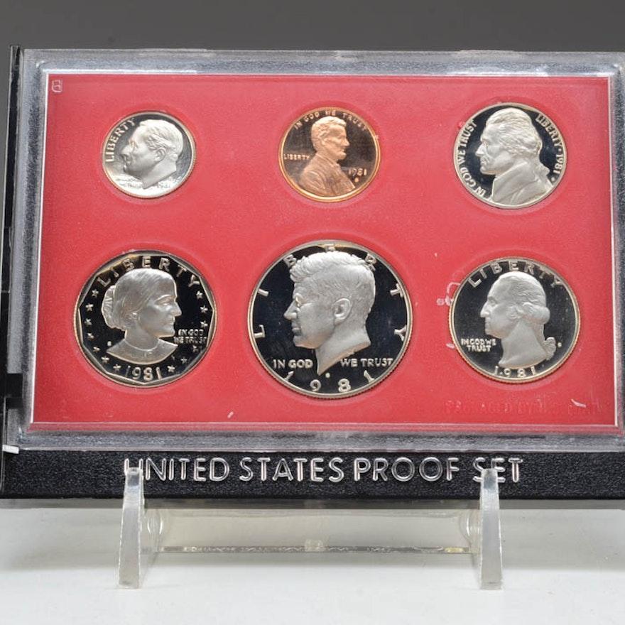 1981 U.S. Proof Set