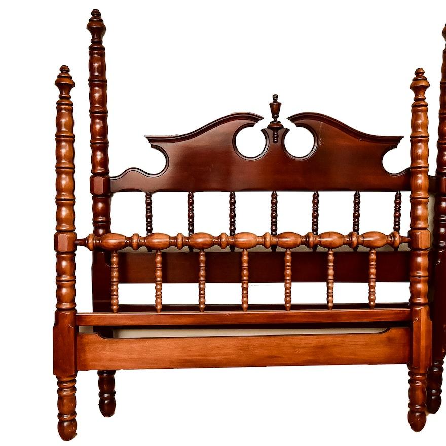 Davis/Lillian Russell Cherry Wood Bed