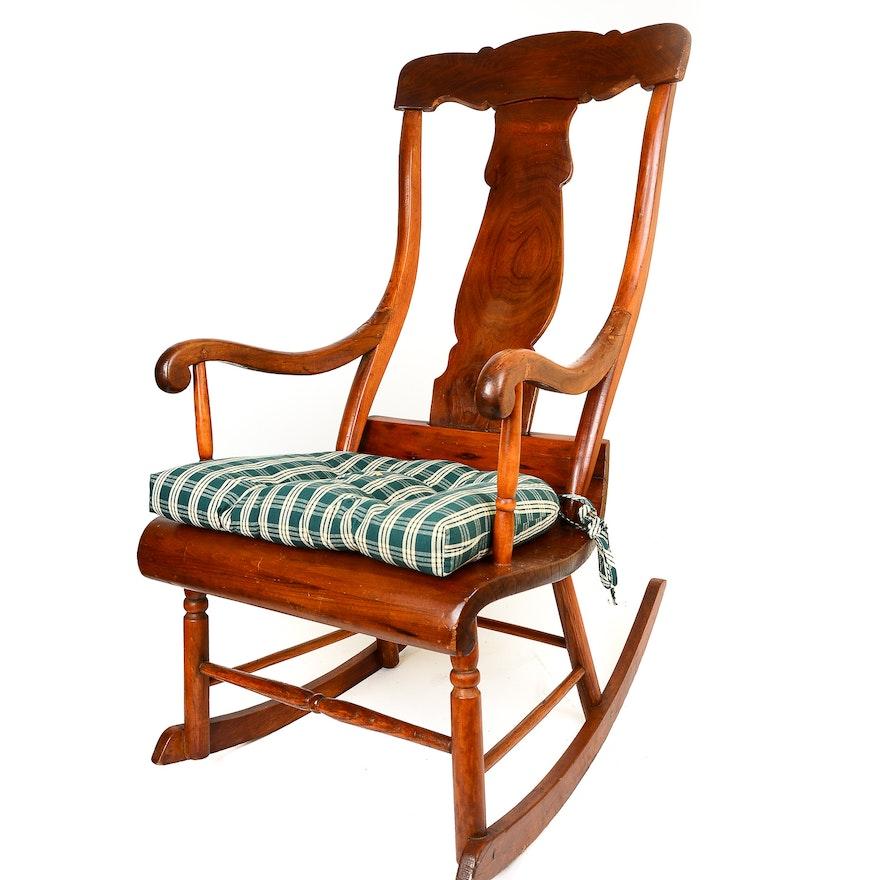 Superb Fiddle Back Rocking Chair Inzonedesignstudio Interior Chair Design Inzonedesignstudiocom