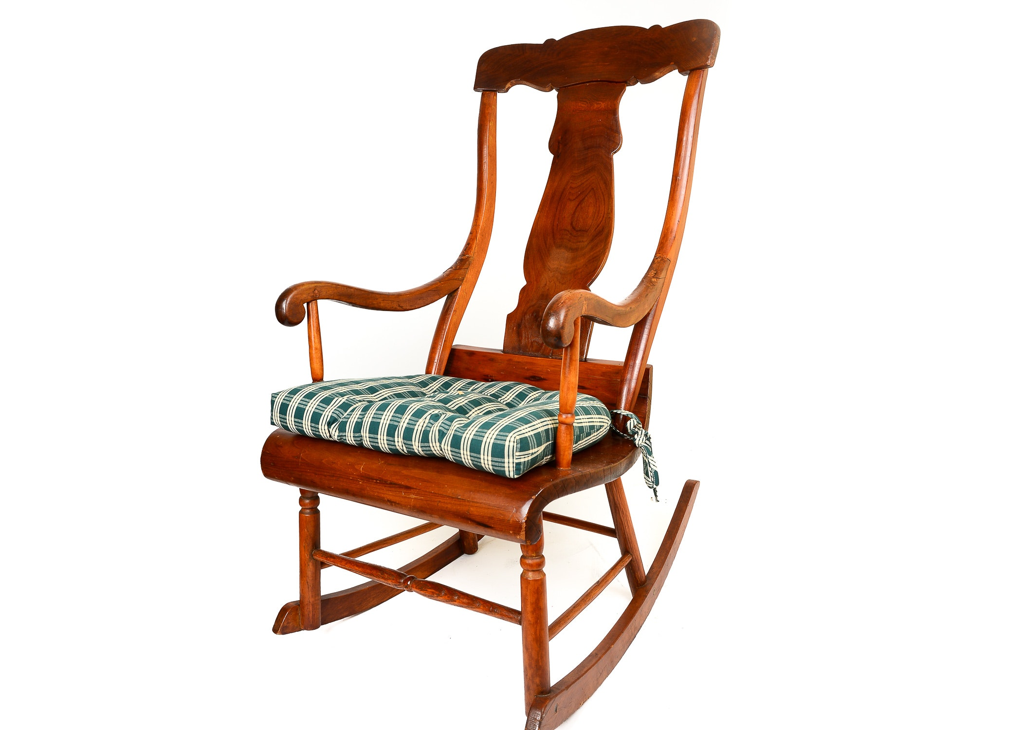 Fiddle Back Rocking Chair ...