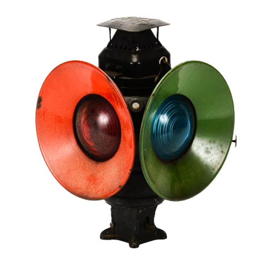 Adlake Railroad Signal Lamp