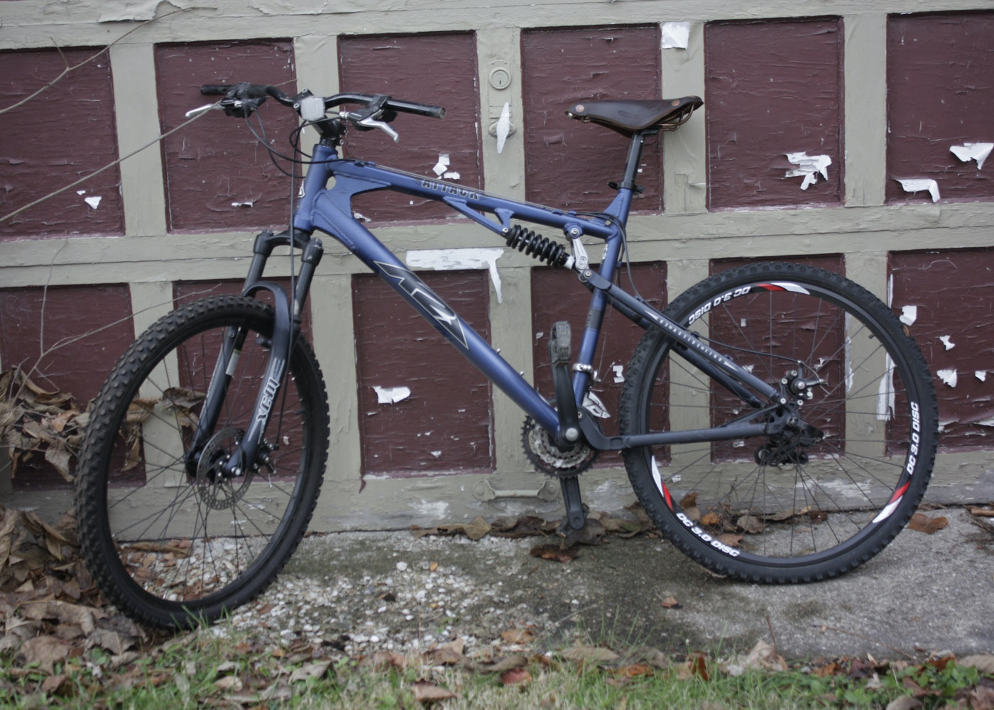Mens K2 Attack Mountain Bike With Brooks Saddle Ebth
