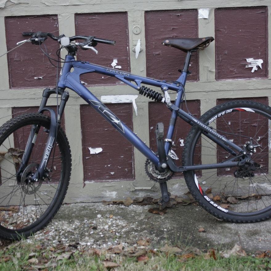 Mens K2 Attack Mountain Bike With Brooks Saddle Ebth
