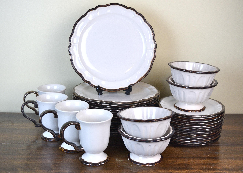 Ambiance Collections \u0027Versailles\u0027 Dinnerware ... & Ambiance Collections \u0027Versailles\u0027 Dinnerware : EBTH