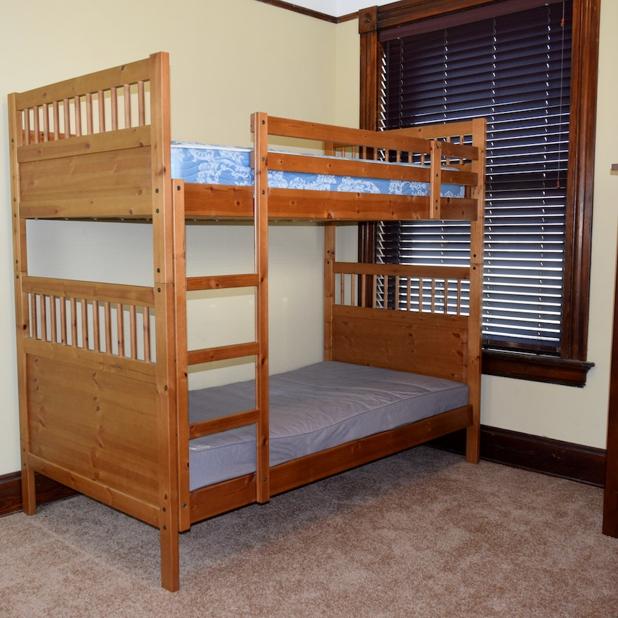 Ikea Hemnes Wood Bunk Beds