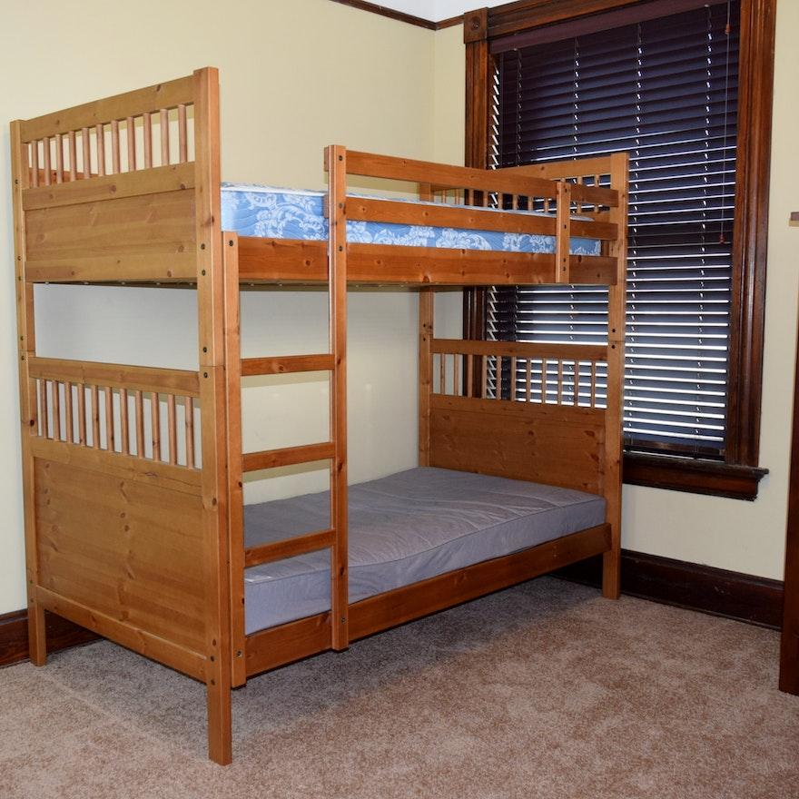 Ikea 'Hemnes' Wood Bunk Beds