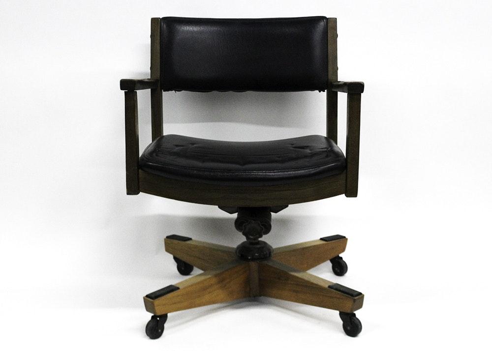 Vintage Murphy-Miller Rolling Chair ...  sc 1 st  EBTH.com & Vintage Murphy-Miller Rolling Chair : EBTH